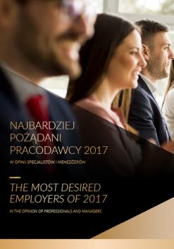 Najbardziej Pożądani Pracodawcy w opinii Specjalistów i Menedżerów - 8. edycja