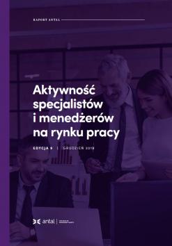 Aktywność specjalistów i menedżerów na rynku pracy - 9. edycja