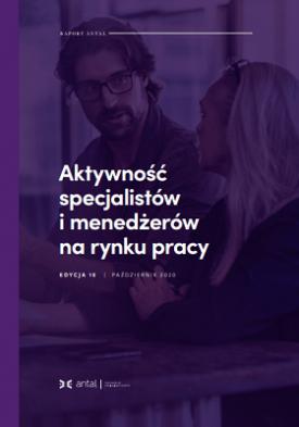 Aktywność specjalistów i menedżerów na rynku pracy - 10. edycja