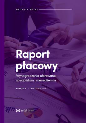 Raport Płacowy Antal 2020