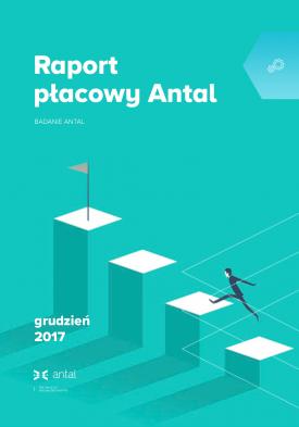 Raport Płacowy Antal - Wynagrodzenia Oferowane Specjalistom i Menedżerom - 7. edycja