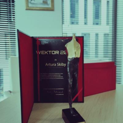 Artur Skiba laureatem konkursu Wektory 2020