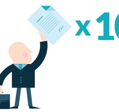 Ile zaproszeń do rozmów o zmianie pracy otrzymali w 2016 roku pracownicy z różnych specjalizacji?